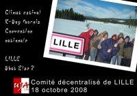 Comité décentralisé de la FNUJA à Lille (18 et 19 octobre 2008)