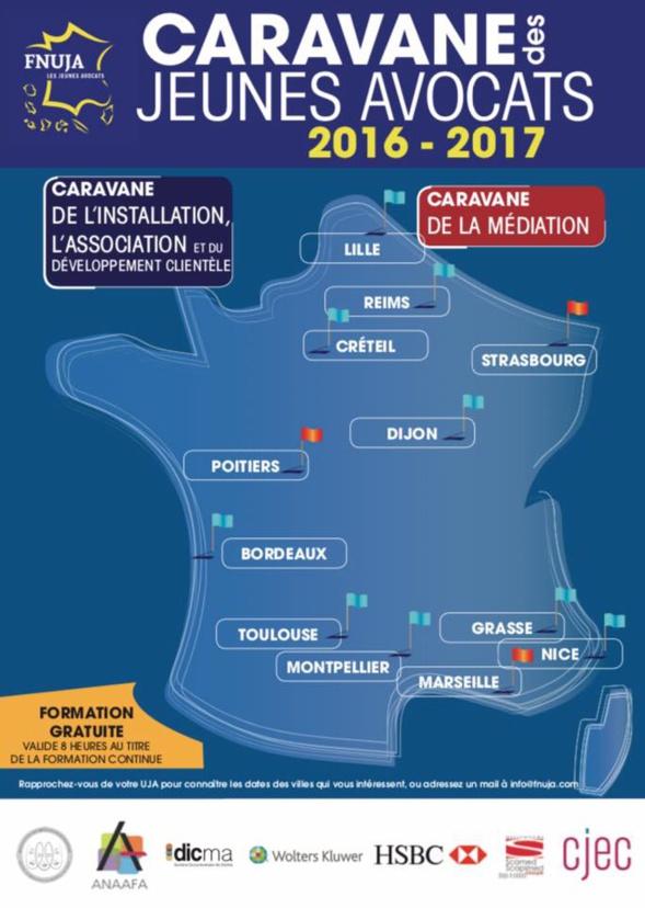 CARAVANE DES JEUNES AVOCATS - 28 OCTOBRE 2016 A GRASSE