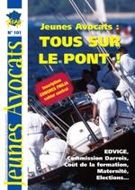 Découvrez en avant-première le Jeunes Avocats Magazine n°101, bientôt dans vos toques !