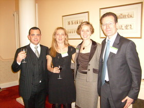 13 Mars 2009 : cooperation and twinning with the solicitors of England and Wales
