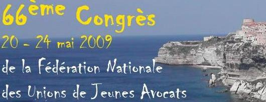 Congrès de la FNUJA 2009 : les motions des Jeunes Avocats