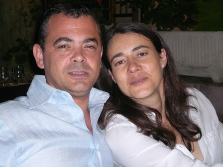 Olivier BURETH (Président 2008-2009) & Camille MAURY (Présidente 2009-2010)