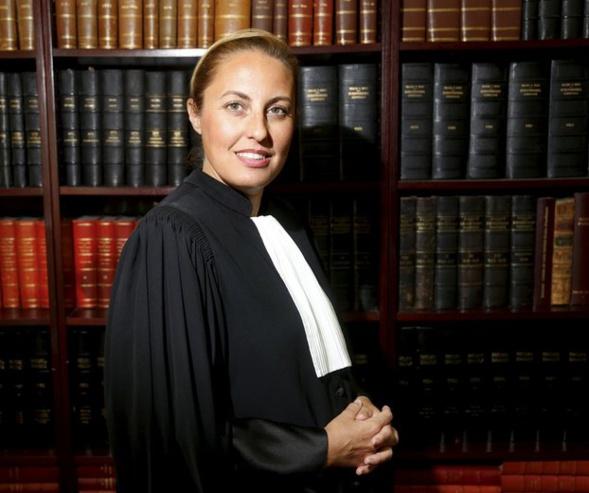 Me Alexandra Boisramé préside la fédération des jeunes avocats. Interview La Provence