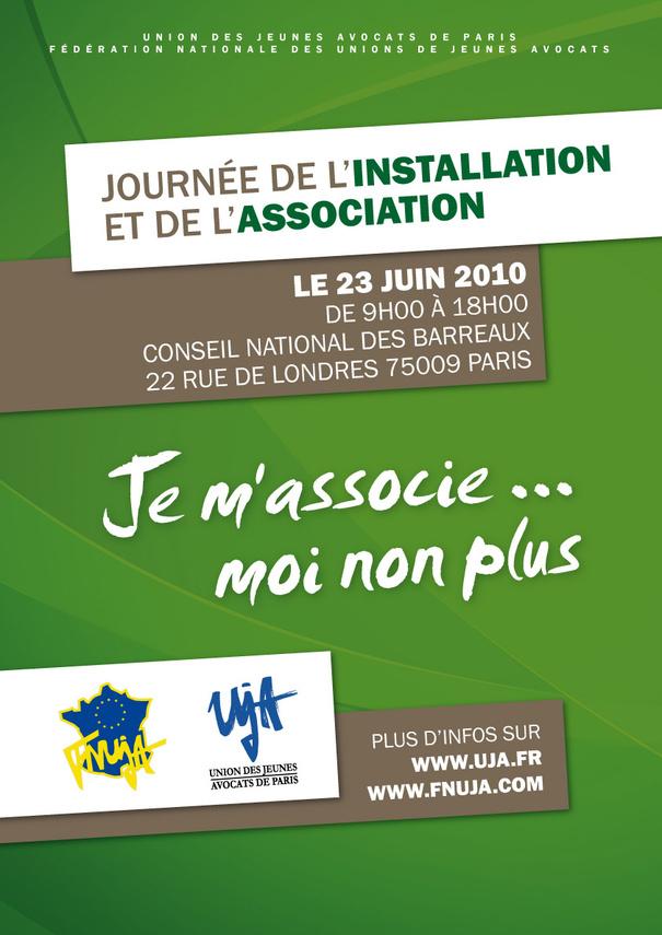 Le 23.06.2010 - LA JOURNEE DE L'INSTALLATION ET DE L'ASSOCIATION