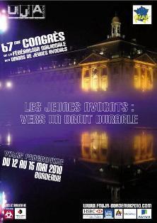 Congrès 2010 : Motion Jeunes Confrères en Afrique