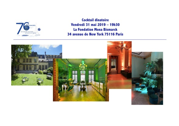 Les jeunes avocats entrent en Seine !  76ème Congrès de la FNUJA à Paris du 29 mai au 2 juin 2019 !!!