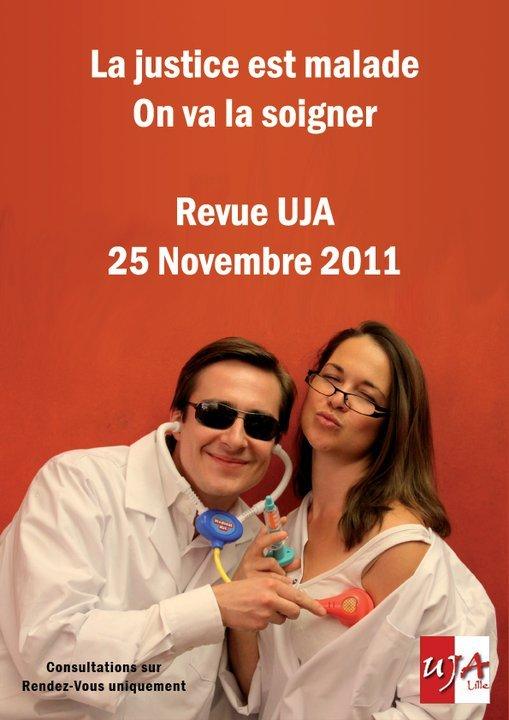 LIILE : Revue de l'UJA, le 25 Novembre 2011