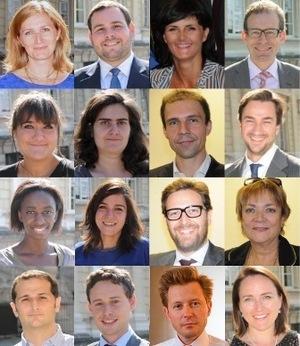 Présentation des candidats de la liste 'UJA de Paris - FNUJA' au CNB - Collège Général - Circonscription Paris