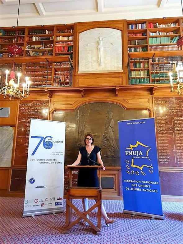 Discours de Catheline MODAT, nouvelle Vice-Présidente