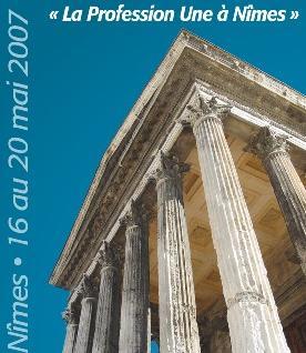 Congrès de la FNUJA 2007 à Nîmes : les motions