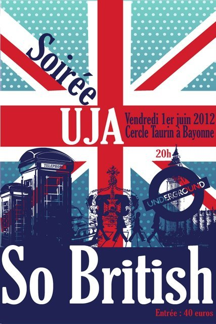 """BAYONNE - Soirée Annuelle : """"So British !"""""""