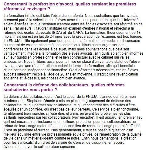 """ACTUEL AVOCAT - Yannick SALA : """"Instaurer une meilleure protection des collaborateurs"""""""