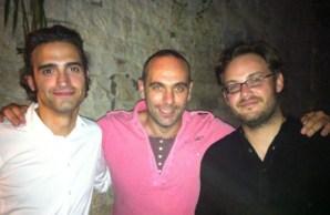 Thomas Autric, Roland Rodriguez et Romain Léonard