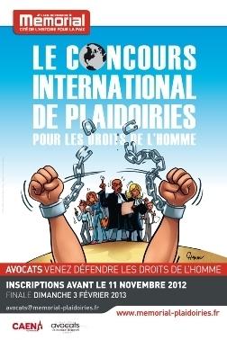 Concours international de plaidoiries pour les droits de l'Homme