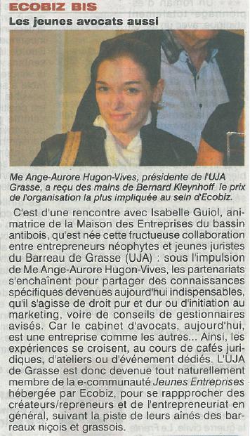 Les Jeunes Avocats de Grasse : de jeunes entrepreneurs dynamiques !
