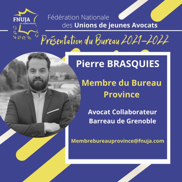 Les membres du Bureau pour l'année 2021-2022