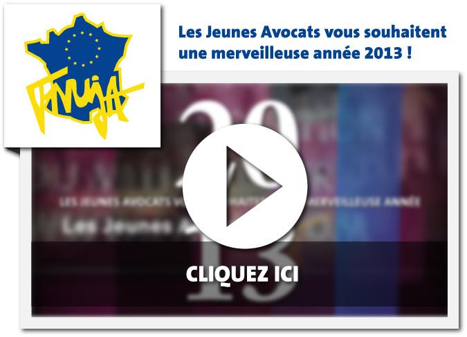 Les Jeunes Avocats vous souhaitent une Merveilleuse Année 2013 !
