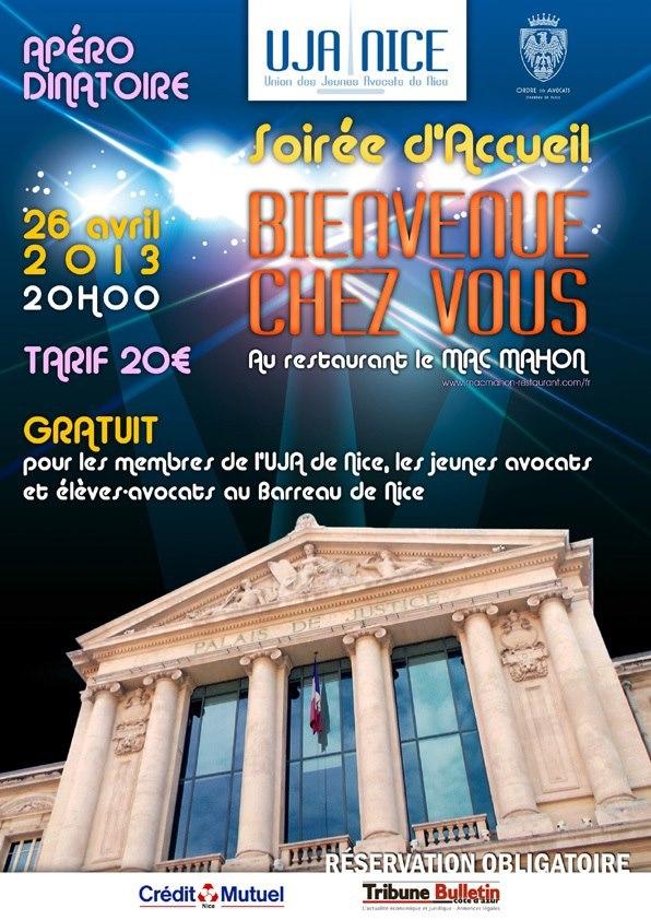 NICE - Soirée d'Accueil de la Promotion 2013