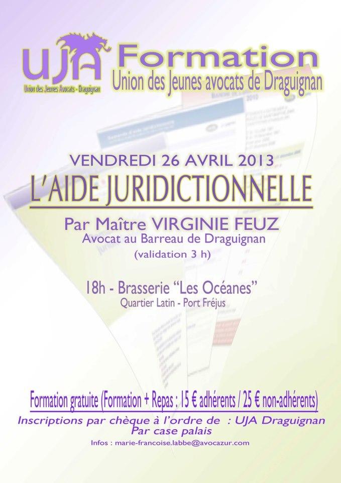 DRAGUIGNAN - Formation : Aide Juridictionnelle, la Pratique