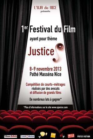 NICE - Festival du Film sur le thème : JUSTICE(S)