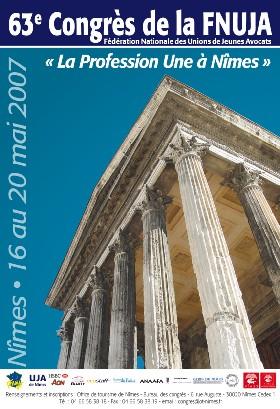 Nimes 2007: Colloque sur 'L'AVENIR DE L'INSTRUCTION EN FRANCE APRES LA REFORME DU 5 MARS 2007'