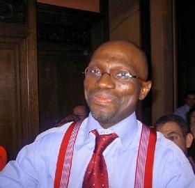Xavier-Jean Keïta au Comité National du 8 juin