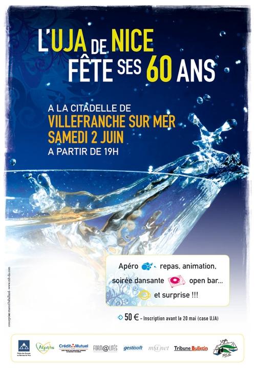 L'UJA de Nice a fêté ses 60 ans