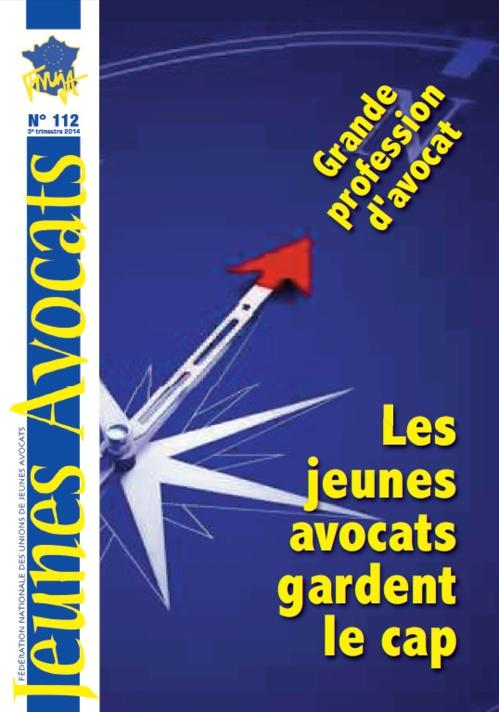 """A LIRE : LE """"JEUNES AVOCATS MAGAZINE"""" N°112 !"""