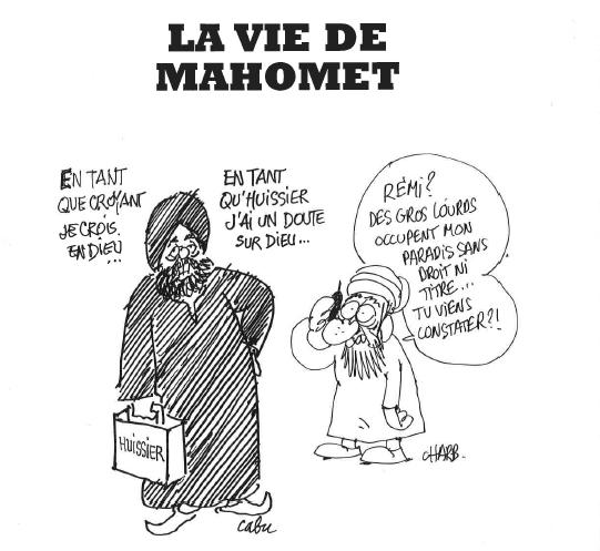 CHARB - Dédicace, la Vie de Mahomet