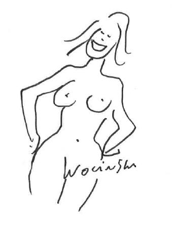 WOLINSKI - Dédicace