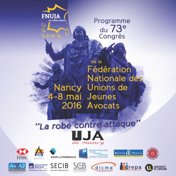73ème Congrès de la FNUJA à NANCY