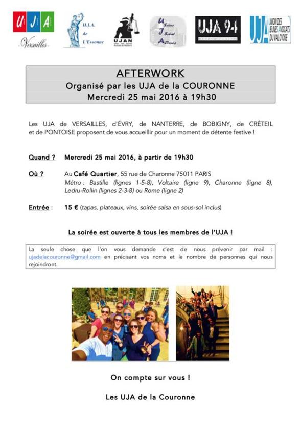 AFTERWORK des UJA de la Couronne
