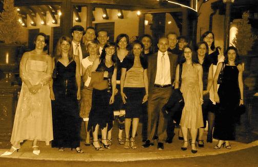L'équipe de l'ADEA au complet lors de la soirée de Gala