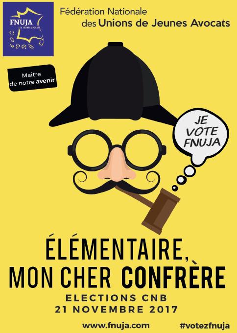 ELECTIONS CNB DU 21 NOVEMBRE 2017 : Le programme des Jeunes Avocats !