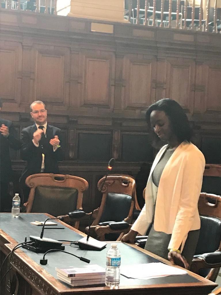 Discours d'Aminata NIAKATE - Séance solennelle d'ouverture du 76ème congrès de la FNUJA à Paris