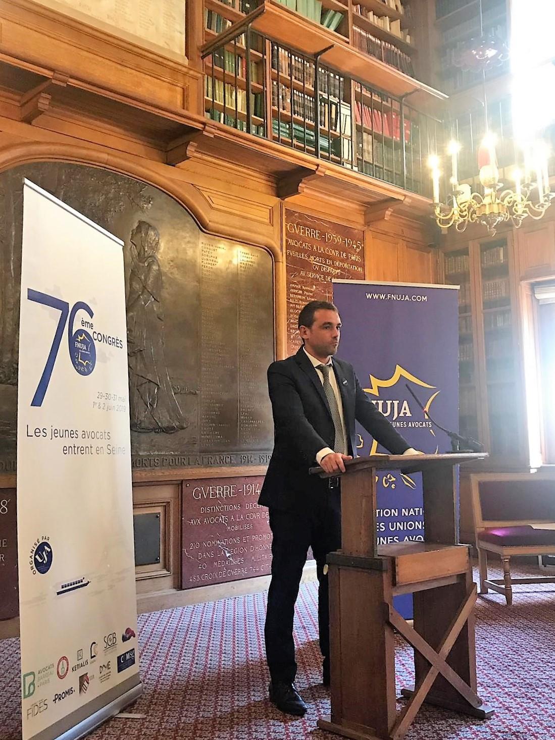 Discours de Jean-Baptiste BLANC, nouveau Président