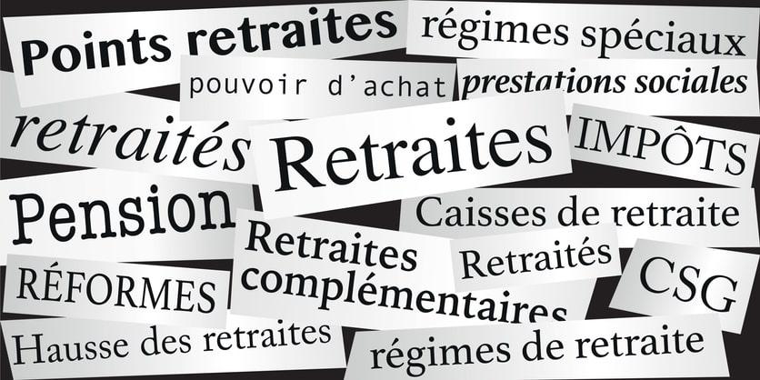 Les articles de la FNUJA sur la réforme des retraites