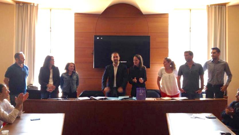 Le nouveau bureau de la FNUJA 2015/2016