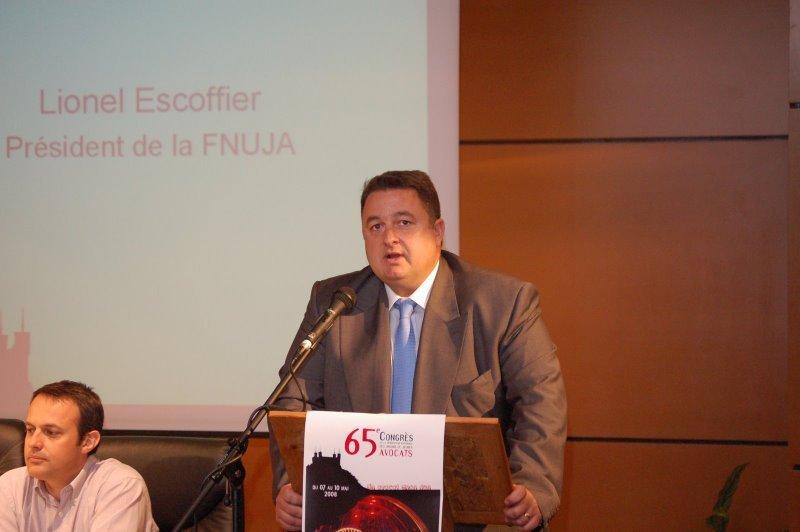 Le Discours de fin de mandat de Lionel ESCOFFIER