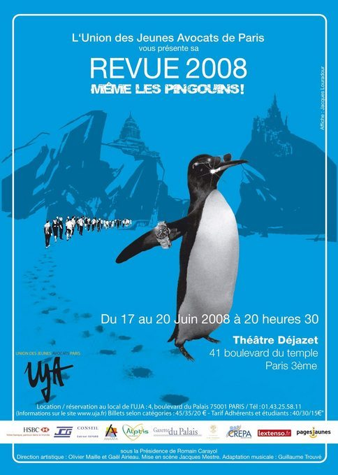 Revue de l'UJA de PARIS 2008: MEME LES PINGOUINS !