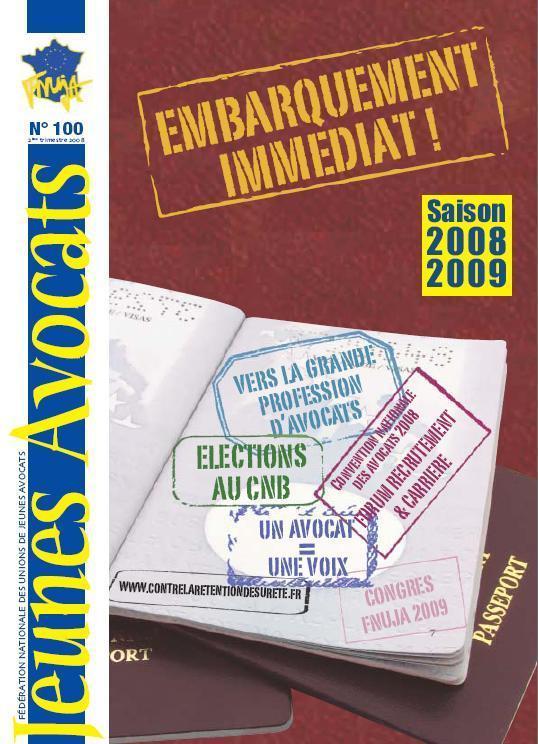 Le FNUJA infos devient Jeunes Avocats magazine