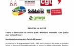 Mobilisation contre le PLJ Justice - Manifestation à Paris le 15 janvier 2019 !