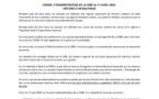 Conseil d'Administration de la CNBF du 17 avril 2020