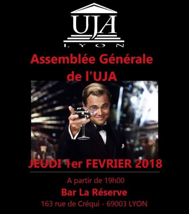 Assemblée générale de l'UJA !