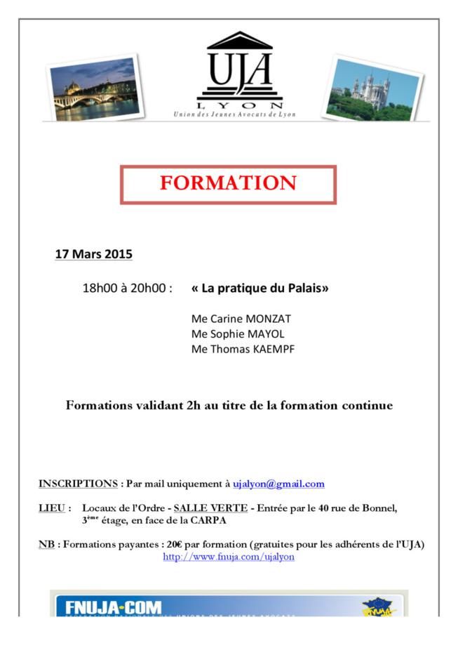 FORMATION 17 MARS 2015