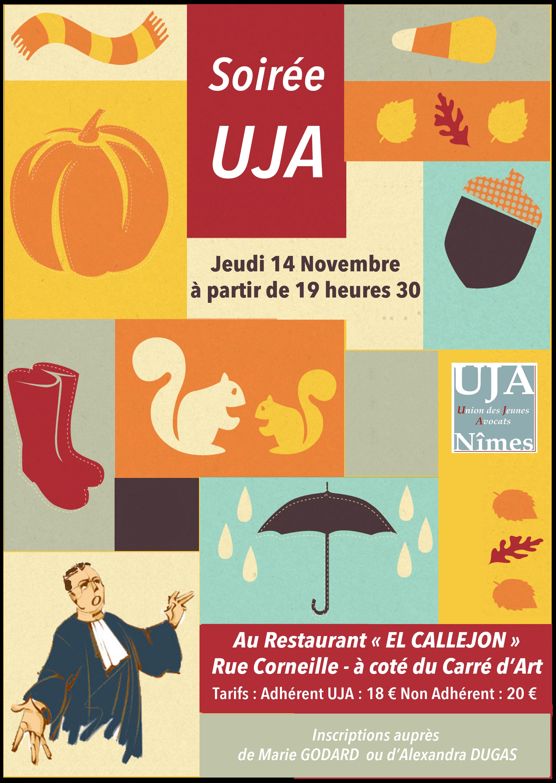 Soirée UJA ! le 14.11.2013 !