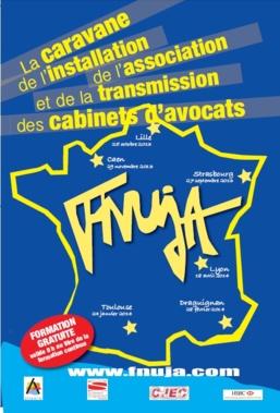 L'UJA de Toulouse reçoit : LA CARAVANE DE L'INSTALLATION